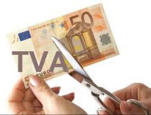 TVA-ul de 5% incepand cu 1 noiembrie